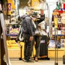 Jessica Alba – Halloween costumes shopping candids with husband in Westwood