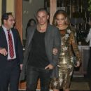 Jennifer Lopez's Golden Night Out with Casper Smart