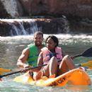 David Otunga and Jennifer Hudson