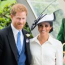 Meghan Markle – 2018 Royal Ascot Day One in Berkshire - 454 x 501