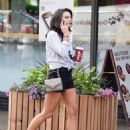 Faye Brookes – Out for a stroll at Terrence Paul in Cheshire - 454 x 596