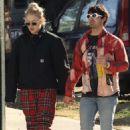 Sophie Turner and Joe Jonas go for a stroll in Bondi