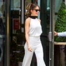 Kate Beckinsale on her way to 'Live with Kelly and Ryan' in NYC