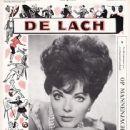 Joan Collins - De Lach Magazine Cover [Netherlands] (14 June 1963)