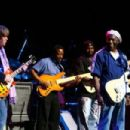 Guitarist Mick Taylor of The Rolling Stones and Buddy Guy perform live during The Experience Hendrix Tour on October 17th, 2007 - 454 x 303