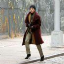 Vanessa Hudgens – Filming 'Second Act' in Soho - 454 x 454