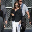Natalie Portman – Arriving at Jimmy Kimmel Live! in Los Angeles (August 25, 2016)