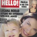 Hello Magazine - 3 October 2000 - 454 x 623