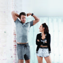 Hamish Blake and Zoe Foster Blake