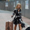 Katie Piper Arrives at her Hotel in Manchester - 454 x 627