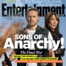 Charlie Hunnam, Katey Sagal - Entertainment Weekly Magazine Cover [United States] (10 October 2014)