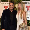 Alessandra Villegas and Daniel Sarcos- Telemundo NATPE Party Red Carpet Arrivals - 400 x 600
