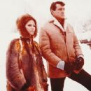 Claudia Cardinale and Rock Hudson