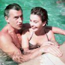 Jean Simmons and Stewart Granger