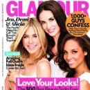 Jennifer Aniston, Demi Moore And Alicia Keys: Glamour magazine's October 2011 issue