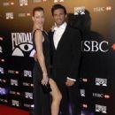 Nicole Neumann and Fabian Cubero