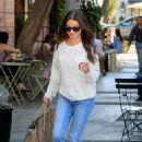 Lea Michele – Leaving Nine Zero One Salon in West Hollywood