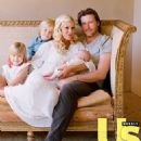 Tori Spelling and her family attending at various events through the years - 454 x 494