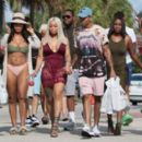 Blac Chyna and Mechie Celebrate Labor Day at a Yacht Party in Miami, Florida - September 4, 2017 - 454 x 265