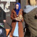 Dakota Fanning – Filming 'Sweetness in the Belly' in Dublin - 454 x 653