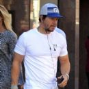 Mark Wahlberg heads through Beverly Hills on February 04, 2016 - 394 x 600
