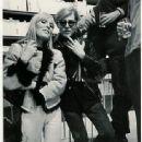 Andy Warhol and Nico - 337 x 480