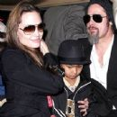 Angelina Jolie and Brad Pitt Step Out Together on Super Bowl Sunday