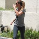 Gisele Bundchen Leaving A Gym In Studio City