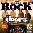 Jim Morrison, Robby Krieger, John Densmore, Ray Manzarek - Classic Rock Magazine Cover [United Kingdom] (December 2014)