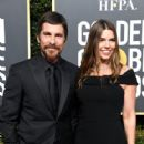 Christian Bale and Sibi Blazic At The 76th Golden Globe Awards (2019) - 418 x 600