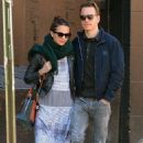 Alicia Vikander & Michael Fassbender Out And About in New York