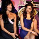 Deepika At Desi boyz music launch 2011