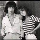 Astrid Lundstrom and Bill Wyman
