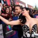 Prince Royce and Emeraude Toubia- The 17th Annual Latin Grammy Awards - Show - 454 x 303