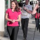 Kelly Brook - filming a commercial - 09/03/11