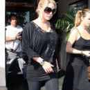 Jessica Simpson In Black & Sasses - CBD Studios In LA 9/30/2008