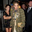 Rita Ora – Leaving the Chiltern Firehouse in London - 454 x 755