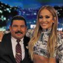 Jennifer Lopez – Visits 'Jimmy Kimmel Live!' in Los Angeles