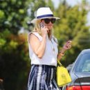 Reese Witherspoon heads to meet a friend for lunch in Los Angeles, California on June 21, 2016