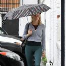 Margot Robbie in Tights – Head to the gym in LA