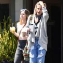 Paris Jackson out for lunch with a friend in LA - 454 x 641