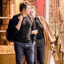Love on the DL! Model Irina Shayk looks shy as she hides behind boyfriend Bradley Cooper during date in NYC