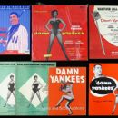 Damn Yankees Original 1955 Broadway Musical Starring Gwen Verdon - 454 x 374