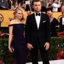 Naomi Watts and Liev Schreiber At The 21st Annual Screen Actors Guild Awards - Arrivals (2015) - 414 x 600