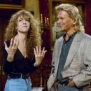 Mariah Carey and Patrick Swayze - Saturday Night Live (1990). - 454 x 351
