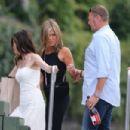 Jennifer Aniston – Arrives in Como