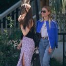 Lily Collins in Long Skirt – Out in West Hollywood