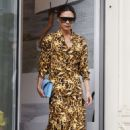 Victoria Beckham – Leaving her flagship store in Mayfair