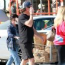 Shannen Doherty – Shopping candids with her husband at market in Malibu - 454 x 303