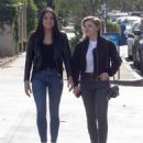 Chloe Moretz in Jeans – Out with a friend in LA - 454 x 559
